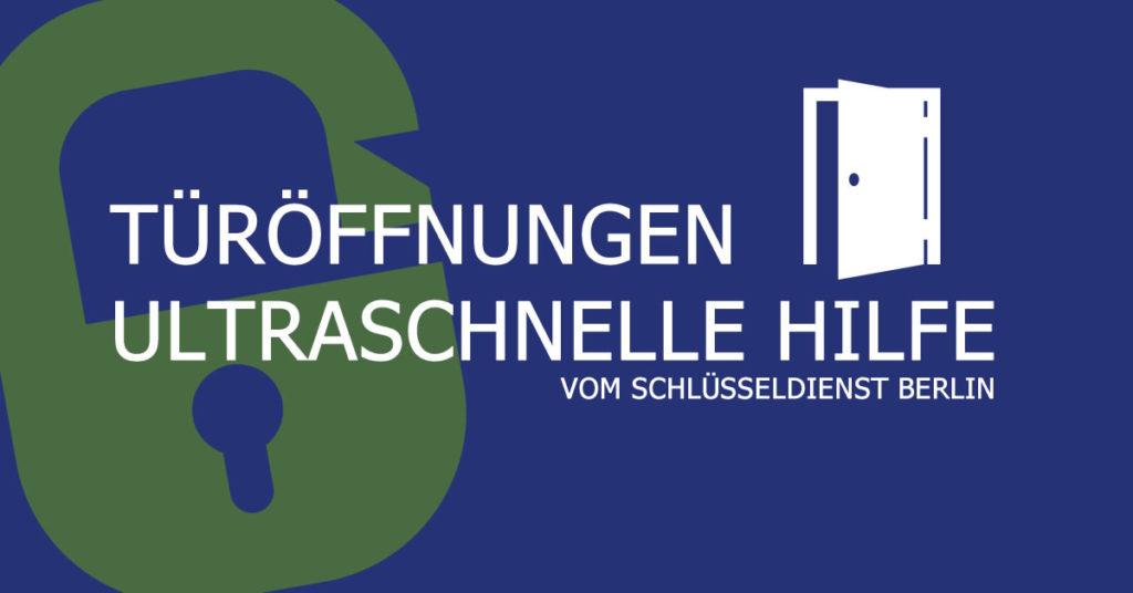 Türöffnung vom Schlüsseldienst Berlin Stadtrandsiedlung Malchow