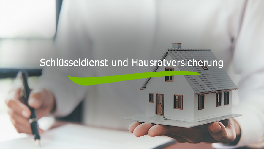 Schlüsseldienst und Hausratversicherung